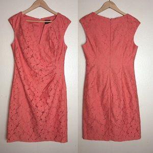 Adrianna Papell Sheath Lace Dress